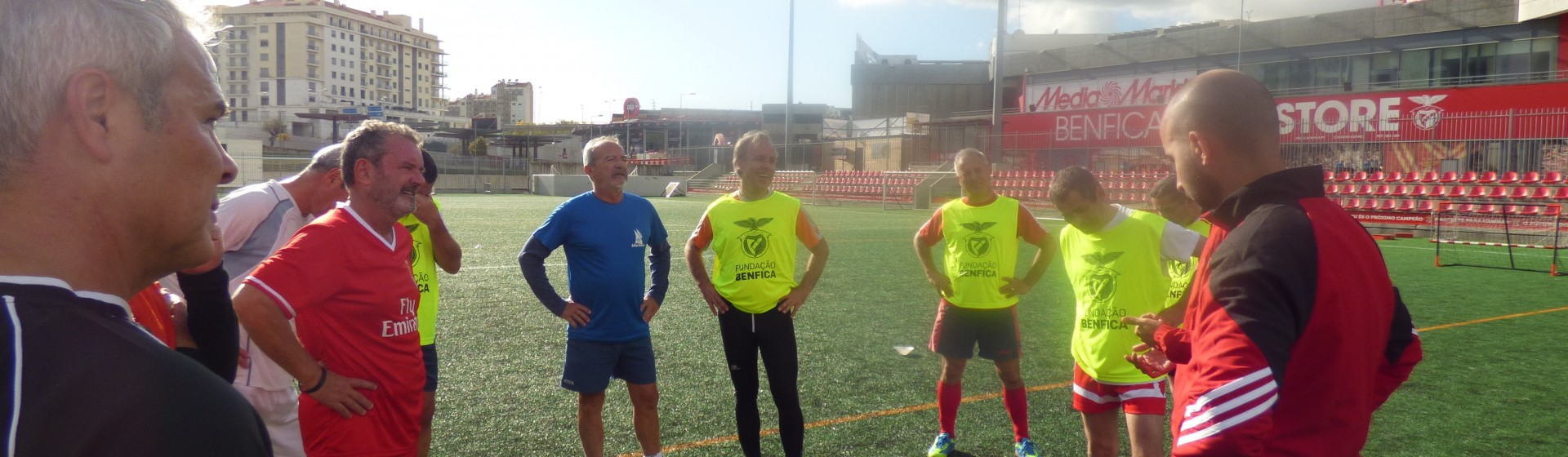S.L. Benfica Foundation, Walking Football European Legends