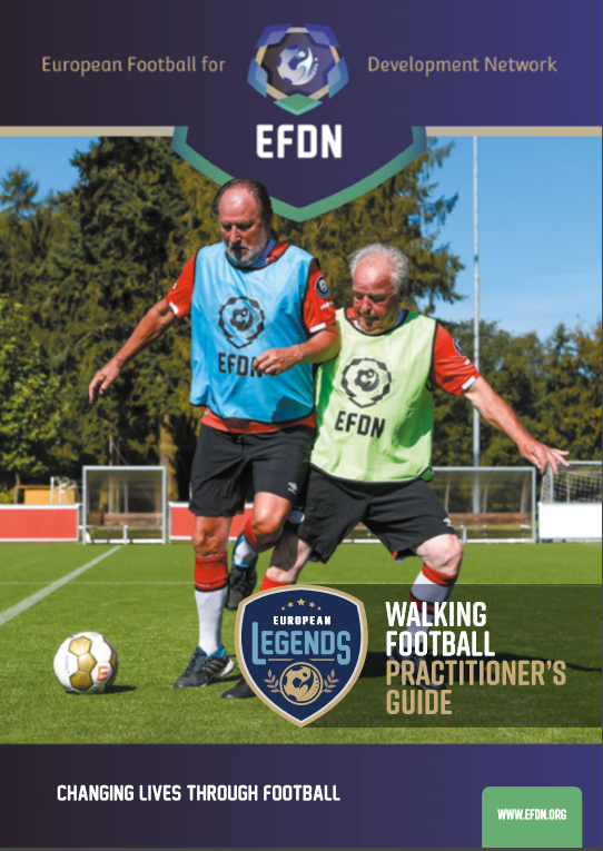 cover walking football practitioner's guide