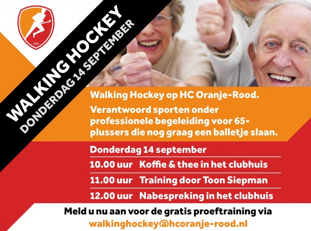 flyer Walking Hockey (A5)